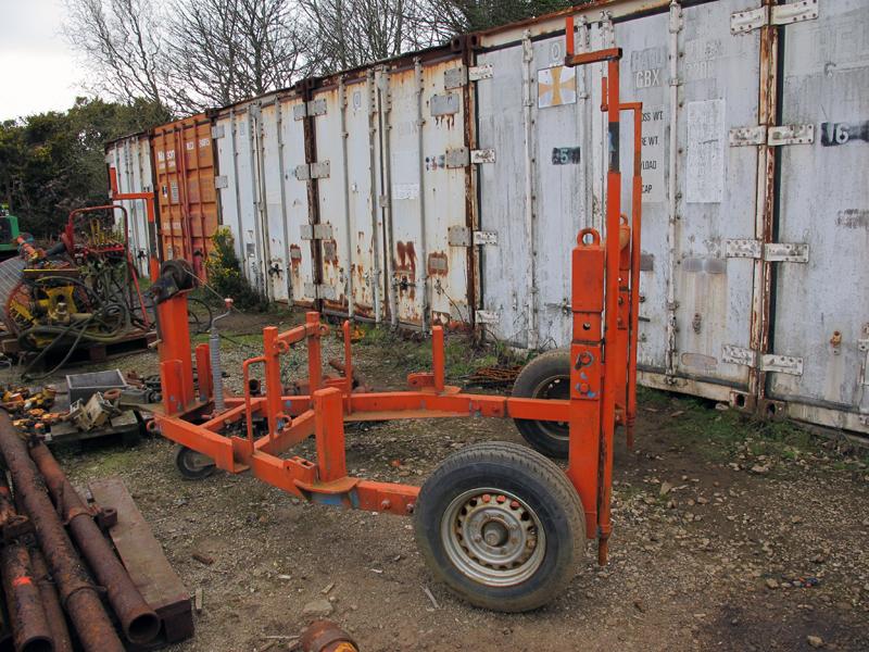 Wagon Drill Base. Cliff Rig Image