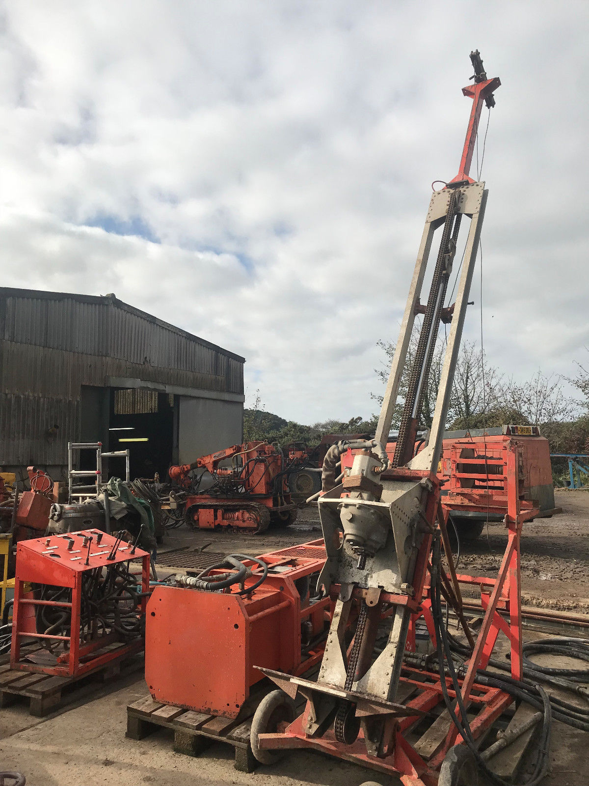 Marlow Mole Portable Diamond Drilling Rig Image